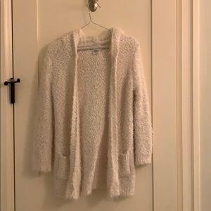 Furry cardigan